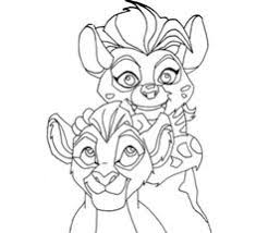 Small Picture How to Draw Kion from The Lion Guard DrawingTutorials101com