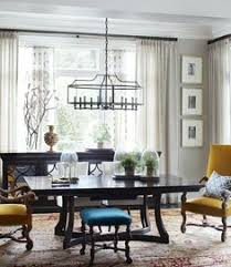 seth van den bergh interior design guru at atlanta s musso design group created a beautiful dining room with glyn water dining chairs