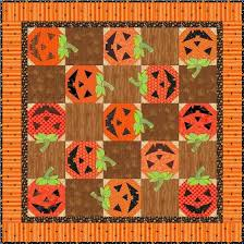 Scrappy Happy Jacks Halloween Quilt Block - PDF Pattern ... & Scrappy Happy Jacks Halloween Quilt Block – PDF Pattern Adamdwight.com