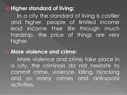 city life advantage and disadvantages 7 iuml130158 more in secured life