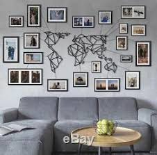 geometric world map metal decor frames and wires wall art home decoration on world map wall art with photo frames with geometric world map metal decor frames and wires wall art home