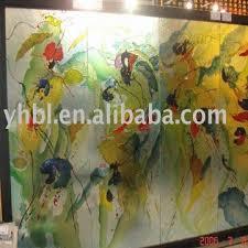 decorative glass plate wall art