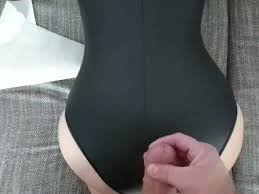 Cum on ass panties