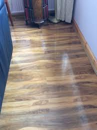 Bq Kitchen Laminate Flooring Bq Dolce High Gloss Laminate Flooring In Neilston Glasgow
