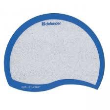 <b>Коврик</b> для мыши <b>DEFENDER Ergo</b> opti-laser Blue пластиковый ...