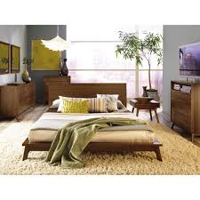 Solid Walnut Bedroom Furniture Copeland Furniture Catalina Bed
