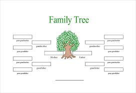 Free Family Tree Chart Free Family Tree Template Word Doc Rome Fontanacountryinn Com