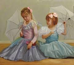 beautiful children oil paintings by mark e lovett commission portrait painter fine artist serving