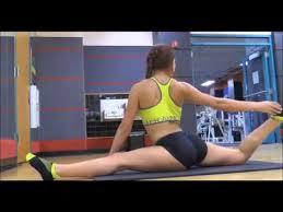 gymnastic challenge gymnastics workout vs yoga flexibility stretches ballet stretch spor