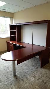 pre owned home office furniture. desk used hon l shaped these are spectacular cherry veneer office desks pre owned home furniture x