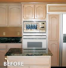 Cabinet Refacing Kit Kitchen Cabinet Refacing Before And After Photos Kitchen