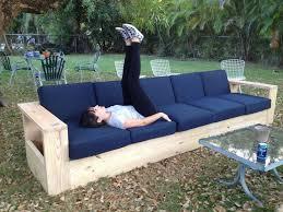 diy outdoor sofa diy patio furniture