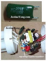 15w compact fluorescent lamp cfl bulb repaired electronics cfl bulb repairing