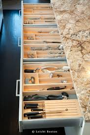 Kitchen Drawer Organization Leicht Kitchen Drawer Organization