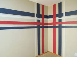 how to paint stripes on wall striped painted walls paint stripes plaid barbers ideas home art how to paint stripes on wall