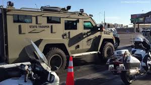 swat eod vehicles az state troopers dps donald trump rally phoenix az june 18 2016