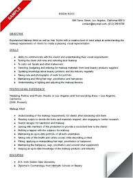 Freelance Makeup Artist Resume Amazing Professional Makeup Artist Resume Sample Examples Freelance Com