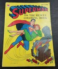 A wide variety of superman book options are available to you, such as offset printing. 1964 Whitman Superman To The Rescue Coloring Book For Sale Online Ebay