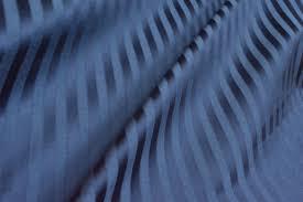 Curtain Fabric Strand Midnight Blue Stripes Curtain Fabric Curtains Fabx