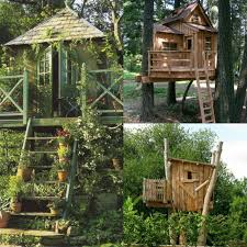 Easy kids tree houses Ground Ronsealinfo Treehouse For Kids In Your Backyard