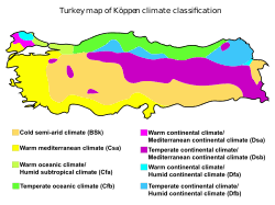 turkey physical features. Wonderful Features Kppen Climate Types Of Turkey Inside Physical Features