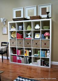 IKEA Bookcase: Expedit Bookcase Styling IKEA ~ love the styling and the  white fake head mount!