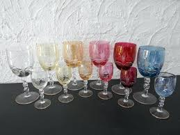 full size of wine glasses set of 12 piece glass libbey stemless a coloured cut