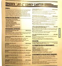Jay-Z's Resume. Would You Hire Him? - 9Gag