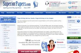 unbiased and unique review of superiorpapers com essay hell superiorpapers com to help you get essays written quickly