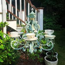 teacup chandelier by jens vintage creation