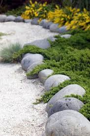 top 40 best stone edging ideas