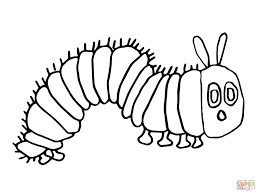 Coloring Pages The Very Hungry Caterpillar Coloring Book Splendi