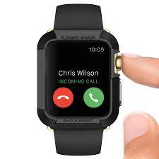 apple watch series 2. spigen rugged armor apple watch series 3 / 2 1 case (42mm) -