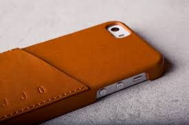 iphone 5s leather wallet case tan lifestyle