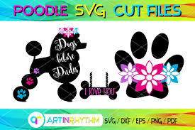 A group board for svg designers to share their designs. Dog Svg Bundle Poodle Svg Paw Svg Graphic By Artinrhythm Creative Fabrica