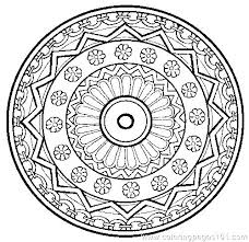 Mandala Coloring Pages Free Mandala Coloring Pages To Color Online