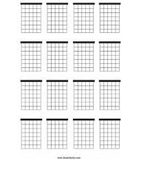 Blank Ukulele Chord Chart Printable Efficient Blank Ukulele Chord Chart Printable Music Charts