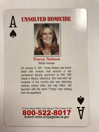 Homicide Case Group Support Survivors – ♠♣ Cold Oklahoma ♦ Program Playing Card