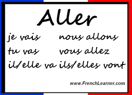 French Conjugation Chart Aller Conjugation Chart