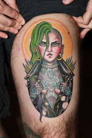 Valerie Vargas Tattoo Punk Rock Chick Punk Rock Girl Tattoo Girl