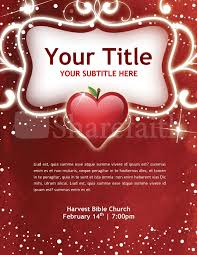 Valentines Flyers Valentine Flyer Template Template Flyer Templates