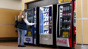 How To Buy From A Vending Machine Awesome Vending Machine Close Up Stock Video Footage 48K And HD Video Clips