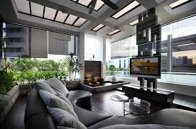 cool living rooms. Sleek Contemporary Living Room Cool Water Feature Design Rooms