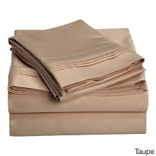superior egyptian cotton 1500 thread count solid deep pocket sheet set free today com 11446068