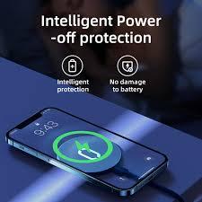 Joyroom Magsafe Sạc không dây từ tính cho iPhone 12 Pro Max Mini 15W Bộ sạc  nhanh cho iPhone 11 XS X Bộ sạc không dây cho Huawei Xiaomi Qi chính hãng  195,000đ