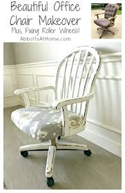 baseball desk chair beautiful office makeover and fixing roller wheels glove