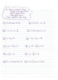 how to solve standard form math algebra standard form worksheet worksheets for all and share