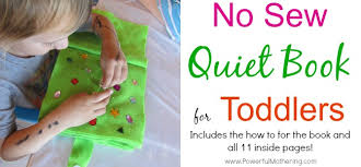 no sew quiet book for toddlers from powerfulmothering page