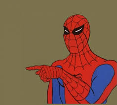 spiderman meme template