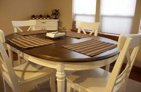 Kitchen Table Refinishing Refinished Kitchen Table Why Not Give It A Try